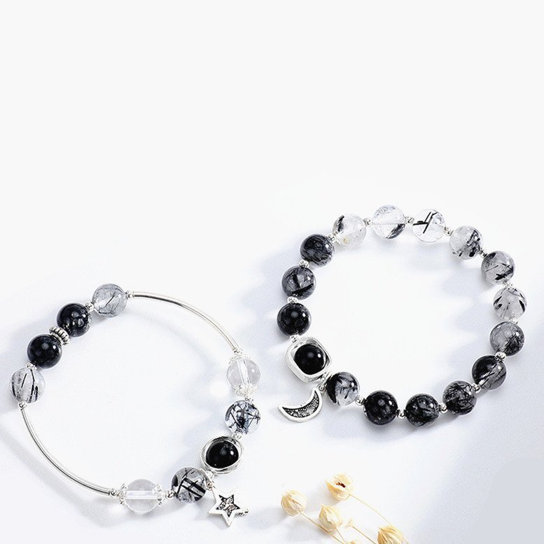 crystal bracelets for couples