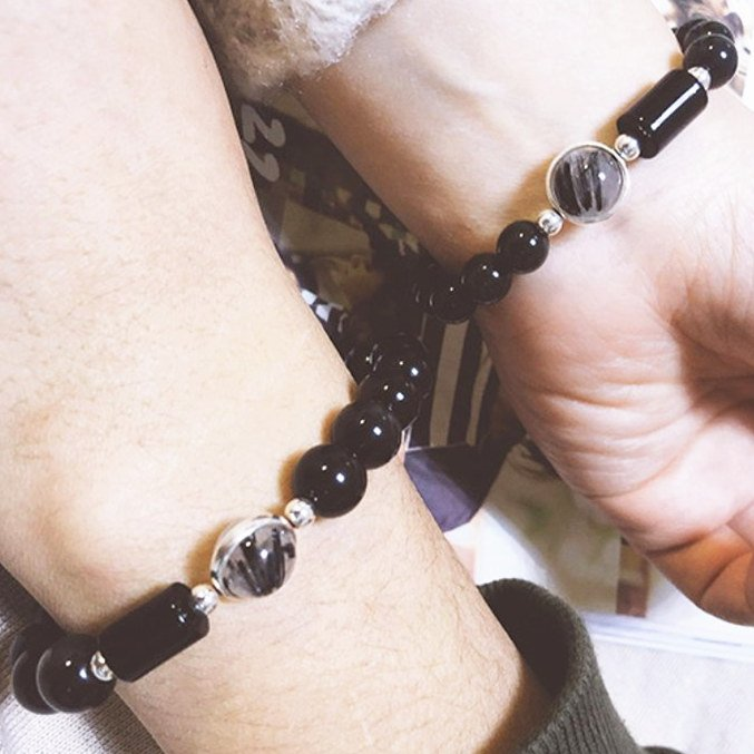 obisidan couple bracelet2