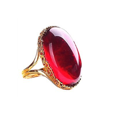 ruby crystal rings