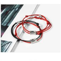 Magnetic Braided Rope Engravable Bracelet for Couples (10)