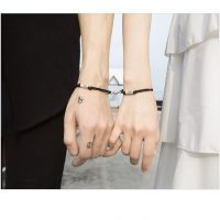 Magnetic Braided Rope Engravable Bracelet for Couples (15)